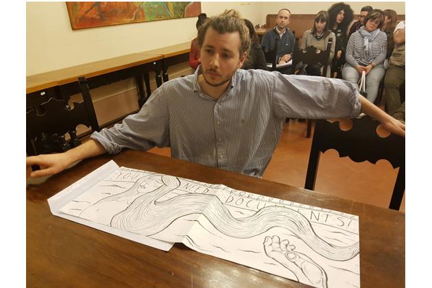 "Street art: Federico Trevisan e Lorenzo Leggio vincono ""Med in art"""