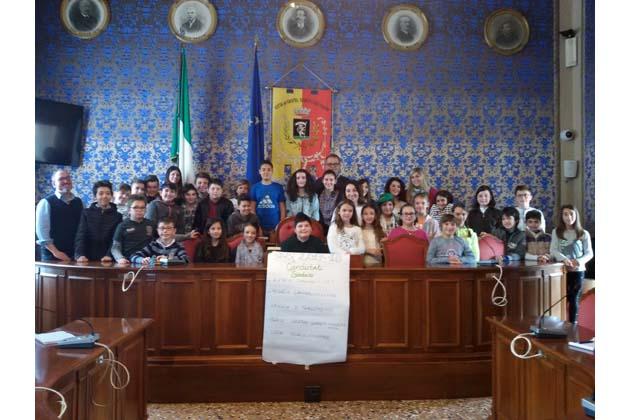 Marco Casadio Loreti è il nuovo sindaco dei ragazzi di Castel San Pietro
