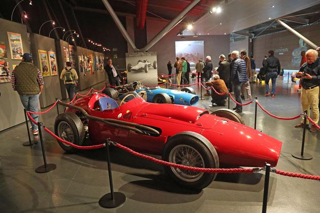 Le storia della F1 in mostra al Museo «Checco Costa» nell'Autodromo di Imola