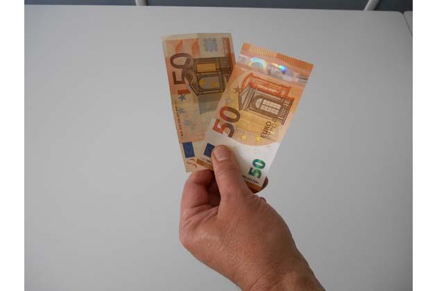 Nuovi 50 euro, più difficili da falsificare