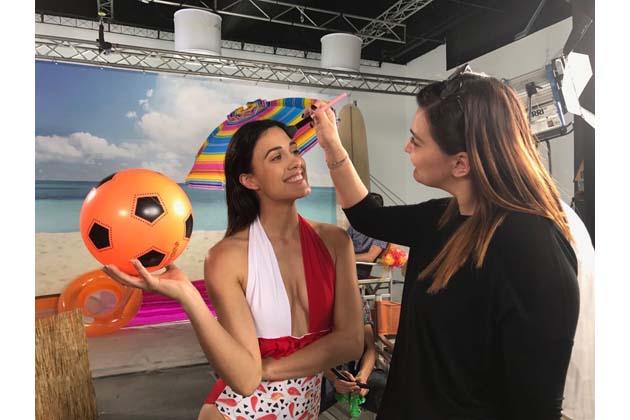 L'attrice Penelope Landini nel nuovo video di Gabbani