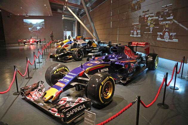 Notte europea dei Musei, a prezzo ridotto alla mostra sulla Formula Uno