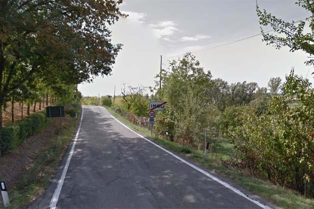 Sulla via Codrignano divieto di transito ai mezzi pesanti nei primi 800 metri causa frana
