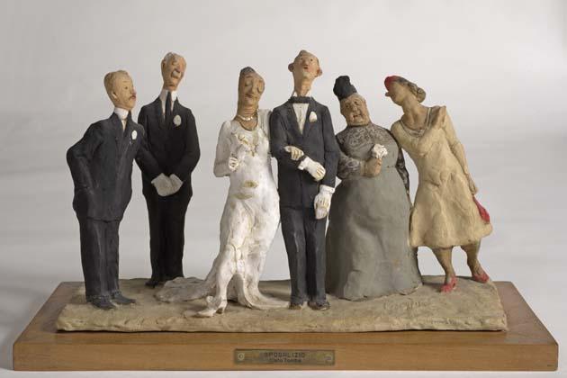 In mostra le terracotte di Cleto Tomba a trent'anni dalla morte