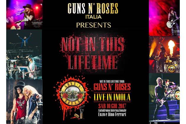 Guns N' Roses a Imola, i treni straordinari per il concerto