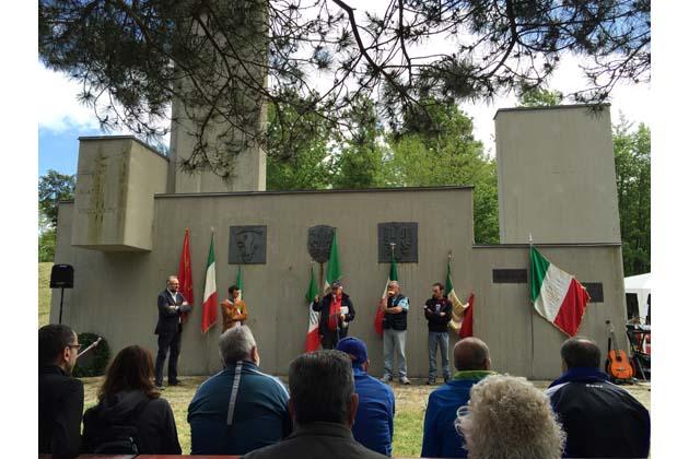 Festa dei partigiani (con camminata) al monte Faggiola per ricordare la 36ª Brigata Garibaldi