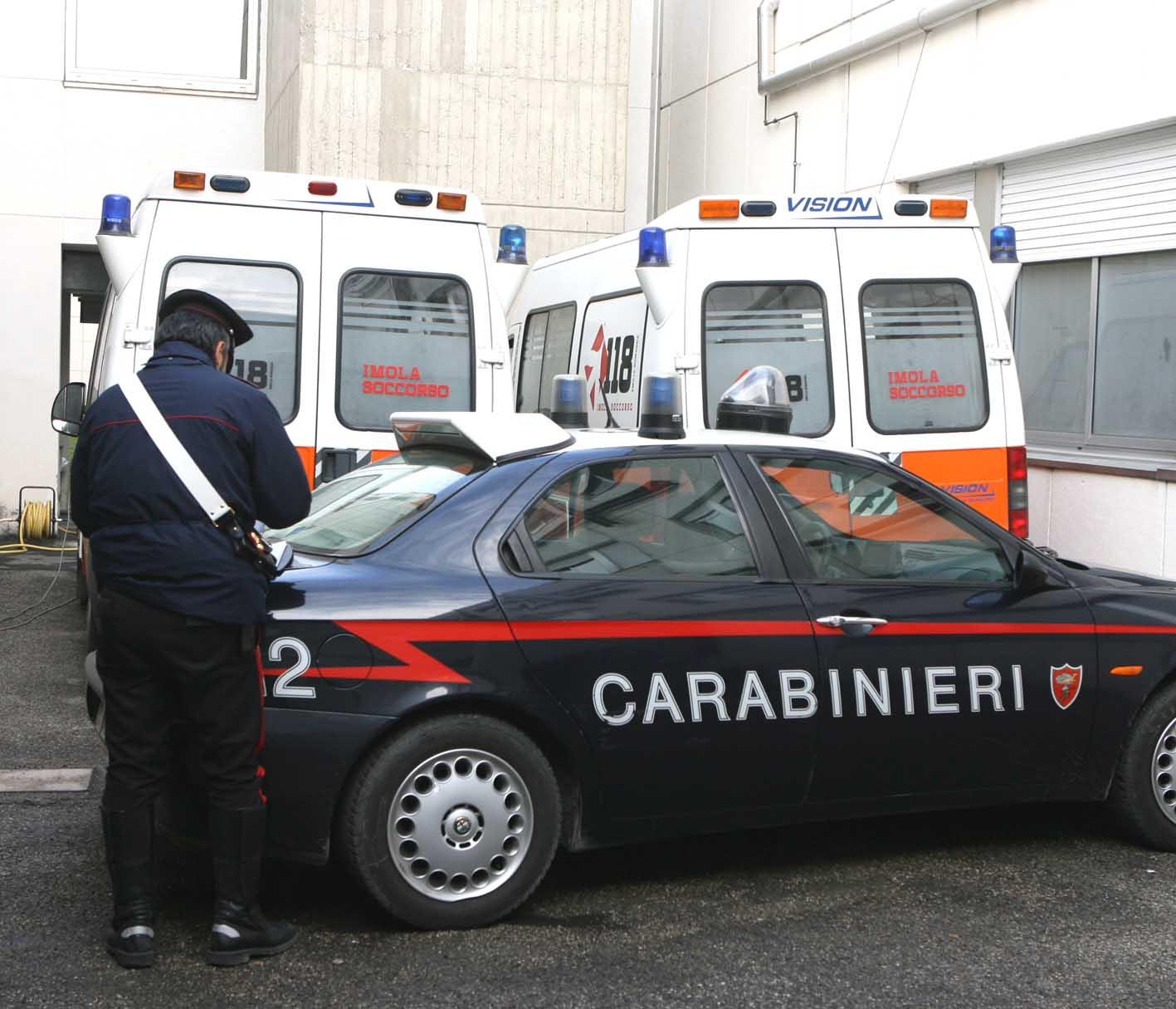 Incidente all'Ima di Ozzano, due feriti per un incendio