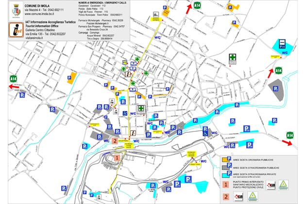 Guns N' Roses a Imola, la mappa dei parcheggi e le tariffe
