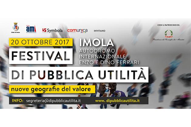 Festival di pubblica utilità a Imola ad ottobre. Guarda il video emozionale girato in città