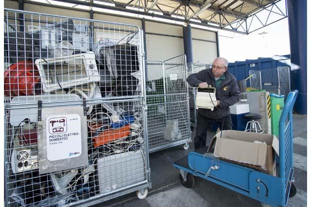 La stazione ecologica di Dozza chiusa per lavori sull'impianto antincendio