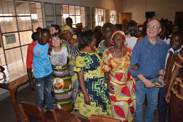 Nella campagna di Bukavu c'è una piccola scuola dedicata a Pietro Venieri