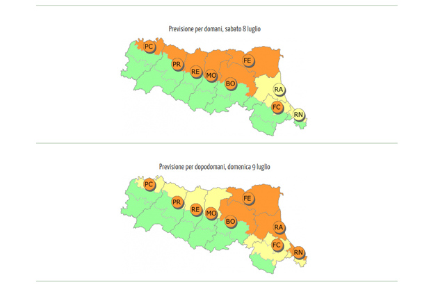 Ondata di calore, l'Arpa lancia l'allarme, nel weekend si toccheranno i 37-38 gradi