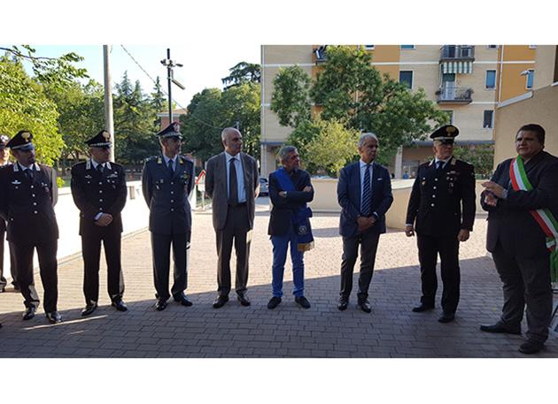 """A Ozzano inaugurato il """"polo della sicurezza"""", la sede unica di polizia municipale e carabinieri"""