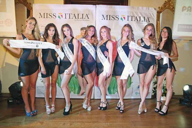Le aspiranti Miss Italia e Miss Imola si selezionano stasera al Sersanti