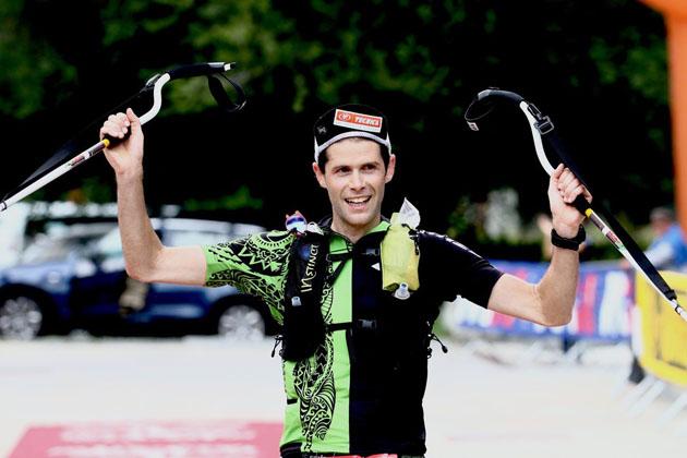 """Gianluca Galeati """"conquista"""" il Monte Rosa dopo 114 km di corsa in montagna"""