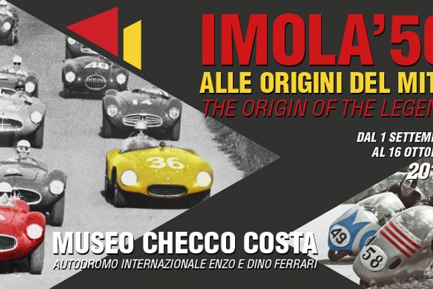 """""""Imola '50. Alle origini del mito"""", auto da Formula Uno e moto in mostra all'autodromo"""