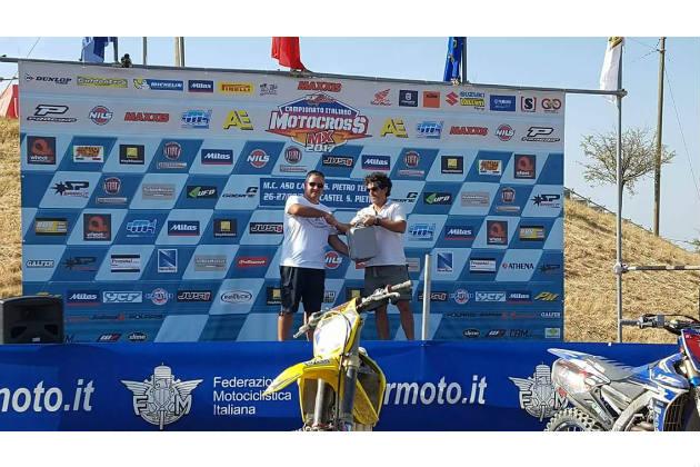 Trascoop dona un defibrillatore al Crossodromo comunale Calvanella
