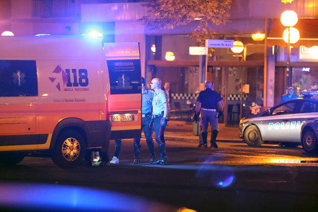 Picchiato in viale Dante all'ora di cena, la polizia indaga