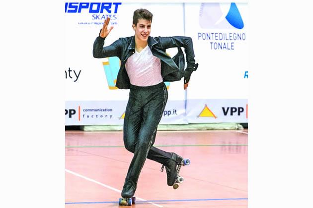 Pattinaggio, Alessandro Liberatore è campione del mondo degli Under 20