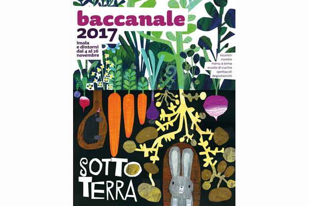 Baccanale 2017, Gek Tessaro firma la copertina e Casa Piani gli dedica una mostra