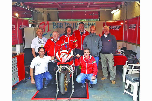 Motociclismo, Valter Bartolini vince il titolo nel Trofeo Wheelup Mes. E gli chiedono il poster