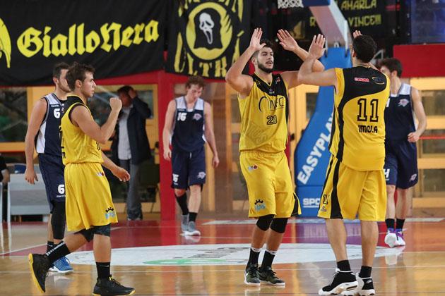 Basket C Gold, alla Virtus Spes Vis Imola il derby contro i Flying Balls Ozzano
