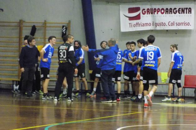 Pallamano serie A, prima vittoria per il Romagna Handball