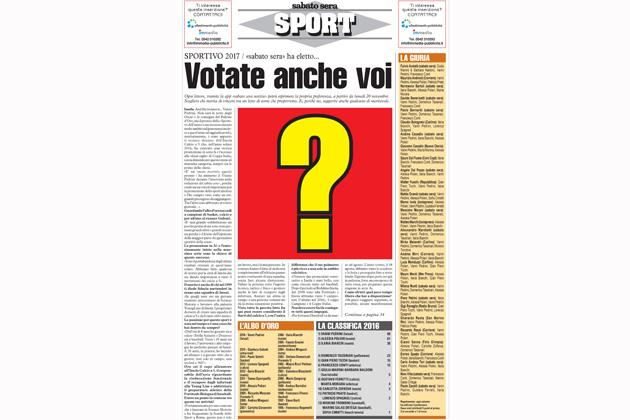 Novità per la scelta dello Sportivo dell'anno: tutti possono votare con l'app Sabato Sera Notizie