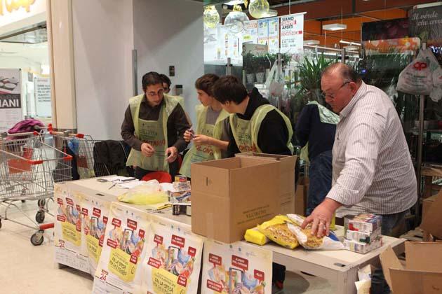 In Emilia Romagna colletta alimentare un po' in flessione, ma un bel regalo per 800 strutture caritatevoli