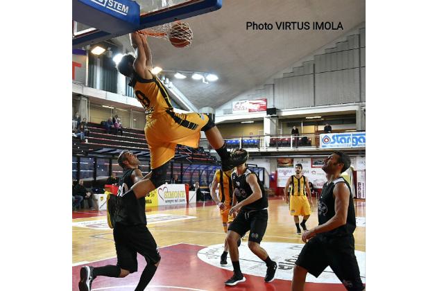 Basket C Gold, tutto facile per la Virtus Spes Vis Imola contro Bertinoro