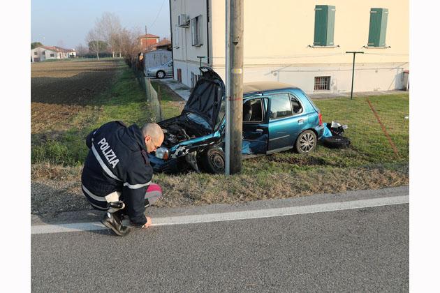 Ancora un incidente all'incrocio via Correcchio e via Nuova, tre feriti