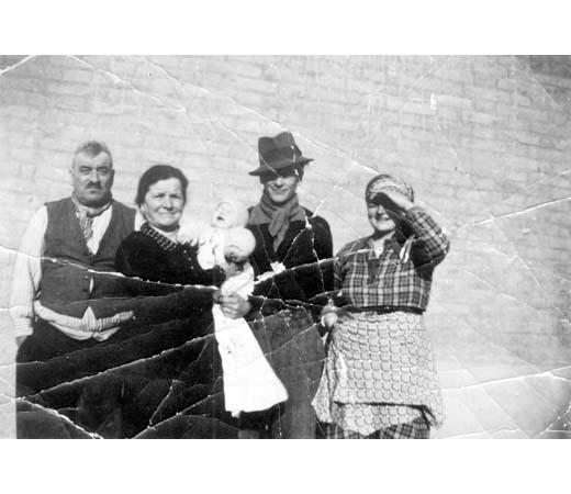 La famiglia Pasini-Sangiorgi