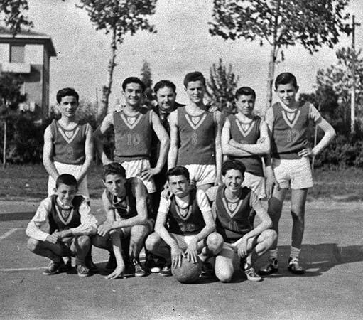 Gli allievi Csi del basket