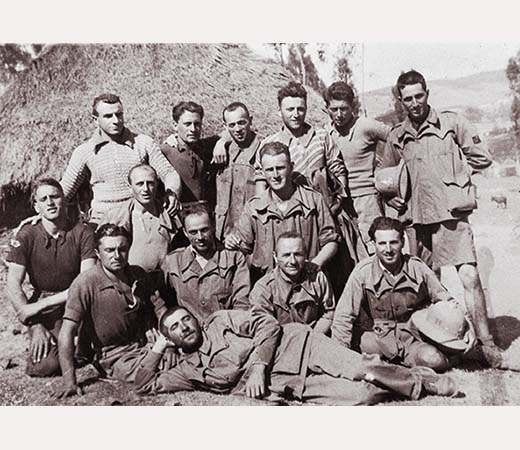 1936, imolesi al lavoro in Etiopia