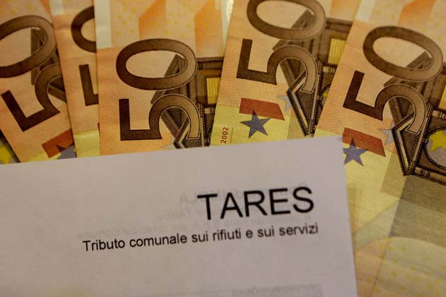 Tares, stanno arrivando i rimborsi 2013