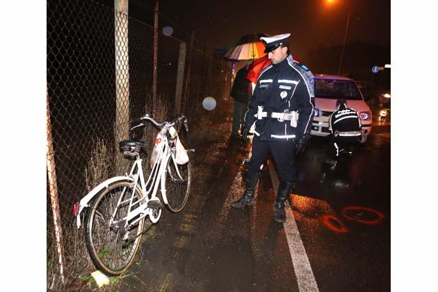 Ciclista ricoverato in rianimazione
