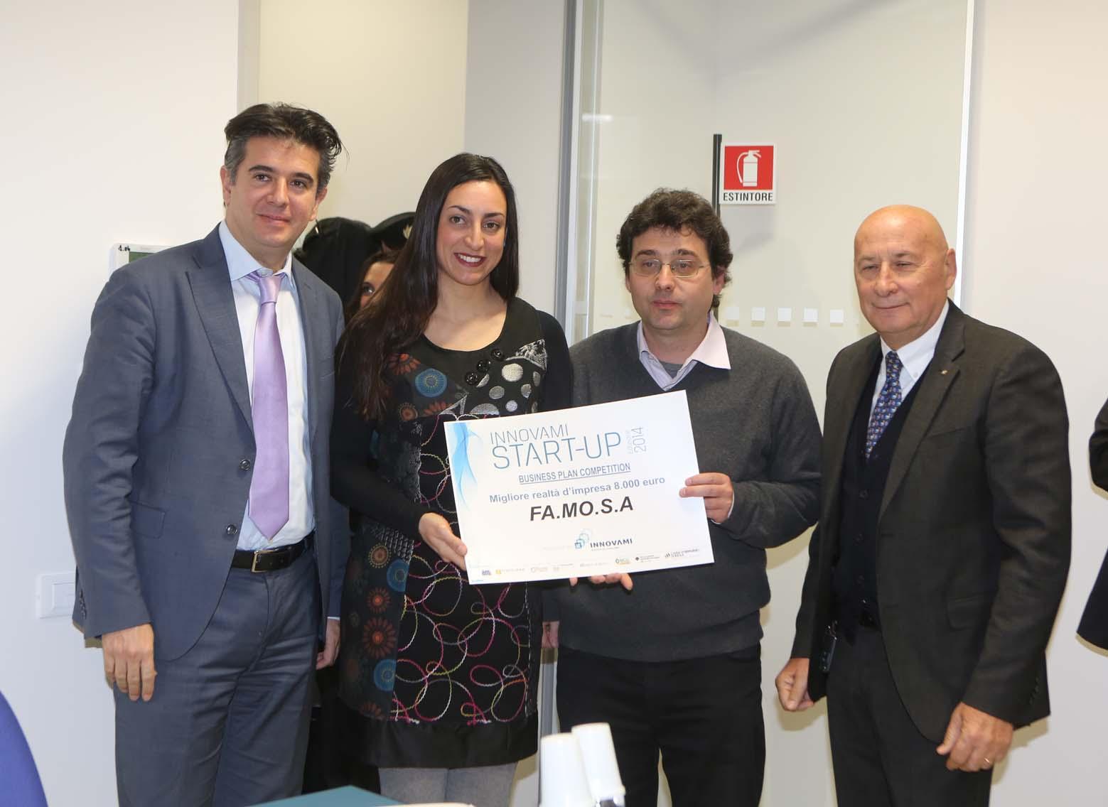 Innovami, nuova sede e premio a FaMoSa