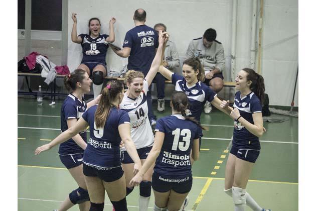 Volley B2: la Clai vince, è prima