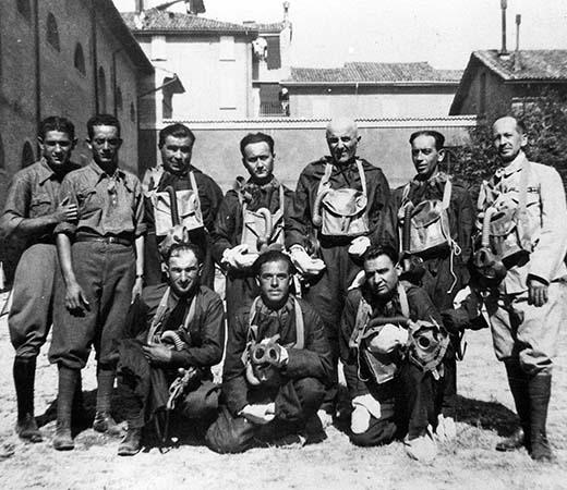I volontari della Croce Rossa nel 1940