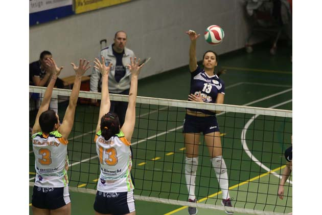 Volley B2: la super Clai vola a +5