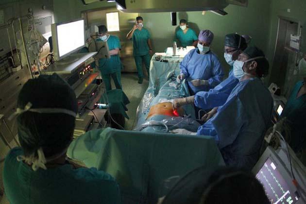 I laparoceli si curano in laparoscopia