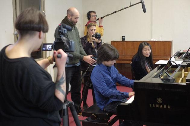 """""""Pianisti"""", il docu sull'Accademia in anteprima"""