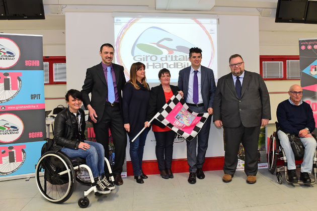 Handbike: tappa a Imola lunedì 6 aprile