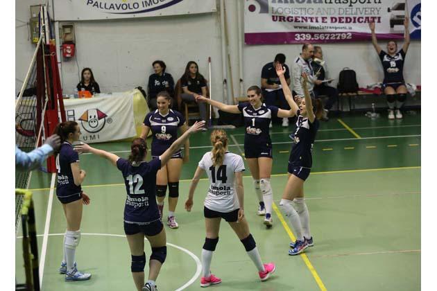 Volley B2: Clai, vendetta da 3-0