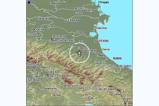 Scossa di terremoto nel faentino