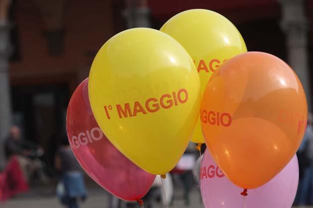 Primo Maggio, in piazza a Imola