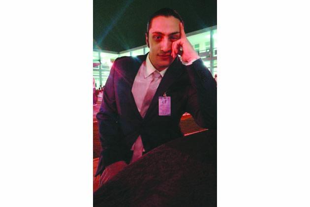 Luca Pastore, un attore in Kuwait
