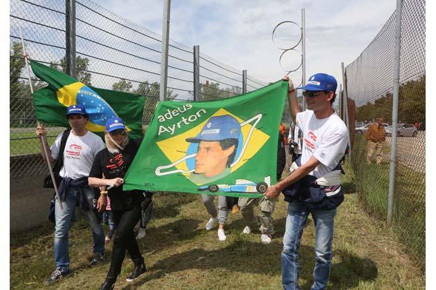 Senna day, passione ma pochi… cuori