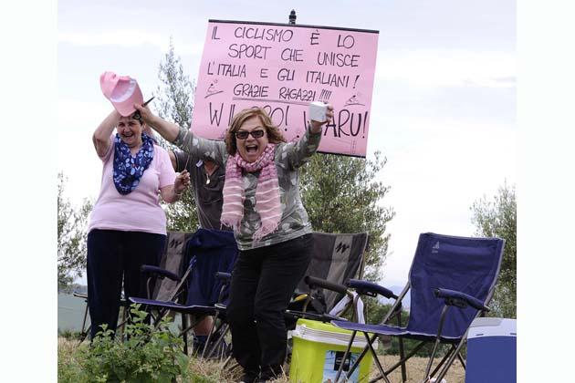 Giro d'Italia, grande entusiasmo per l'11a tappa a Imola