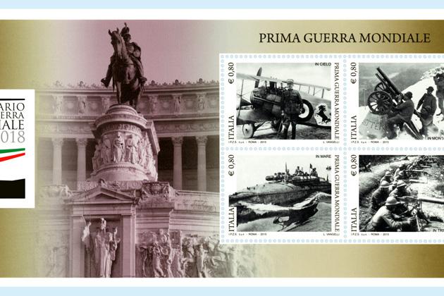 La Grande guerra nei francobolli